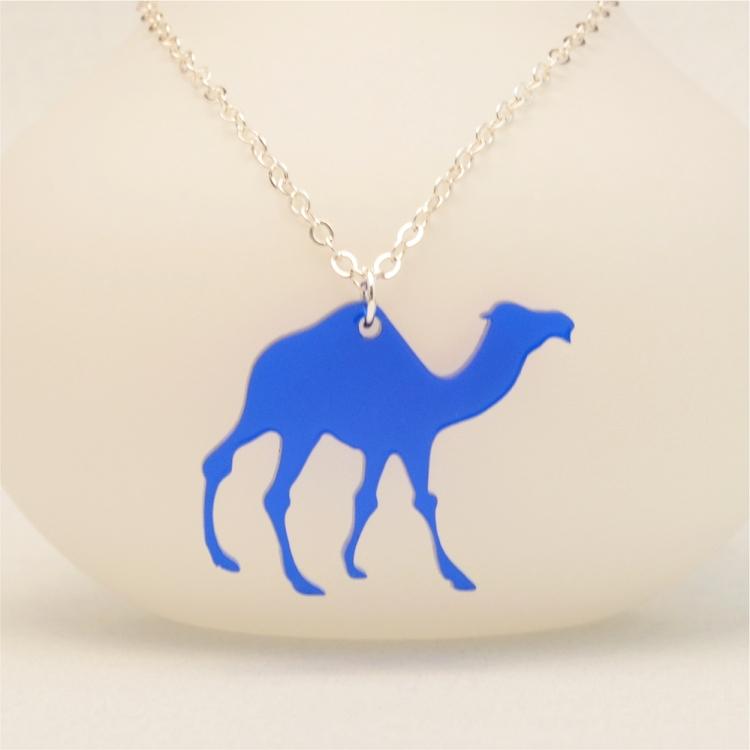 Laser cut camel necklace ottava designs laser cut camel acrylic necklace aloadofball Gallery