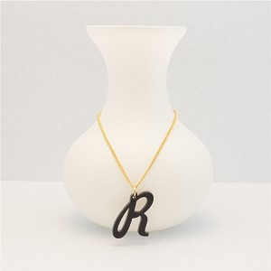 Curvy Initial Necklace