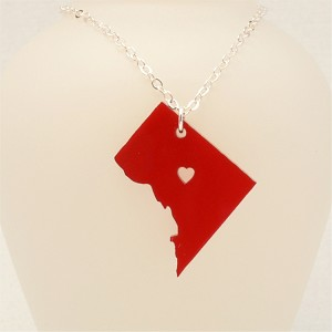 Washington DC Necklace